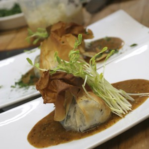 Kulinarische verköstigung Dicker hund Catering