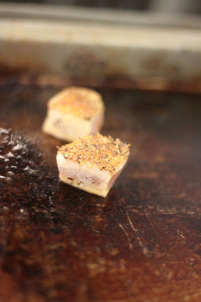 Gebratener Thunfisch, Dickerhunde Catering